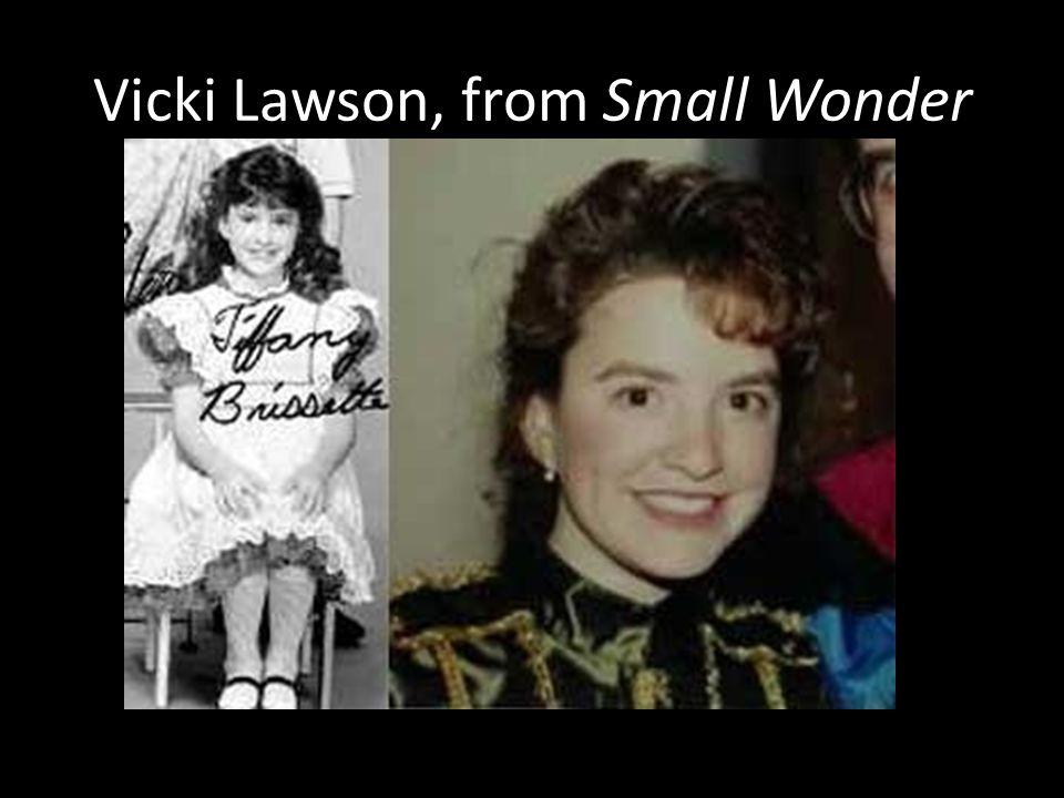 Vicki Lawson, from Small Wonder