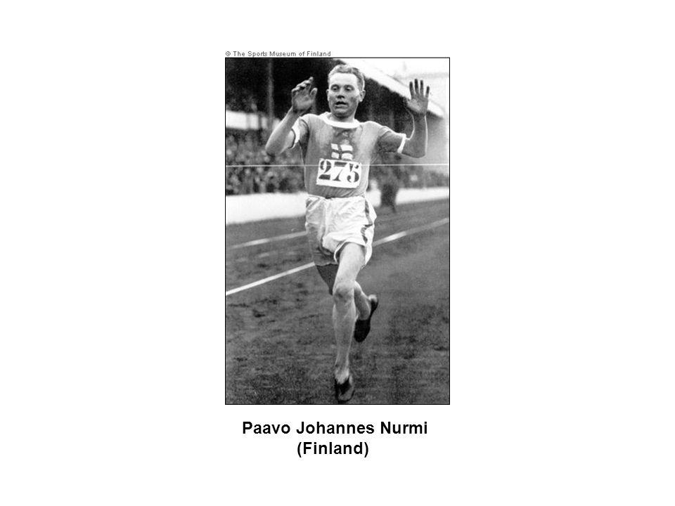 Paavo Johannes Nurmi (Finland)