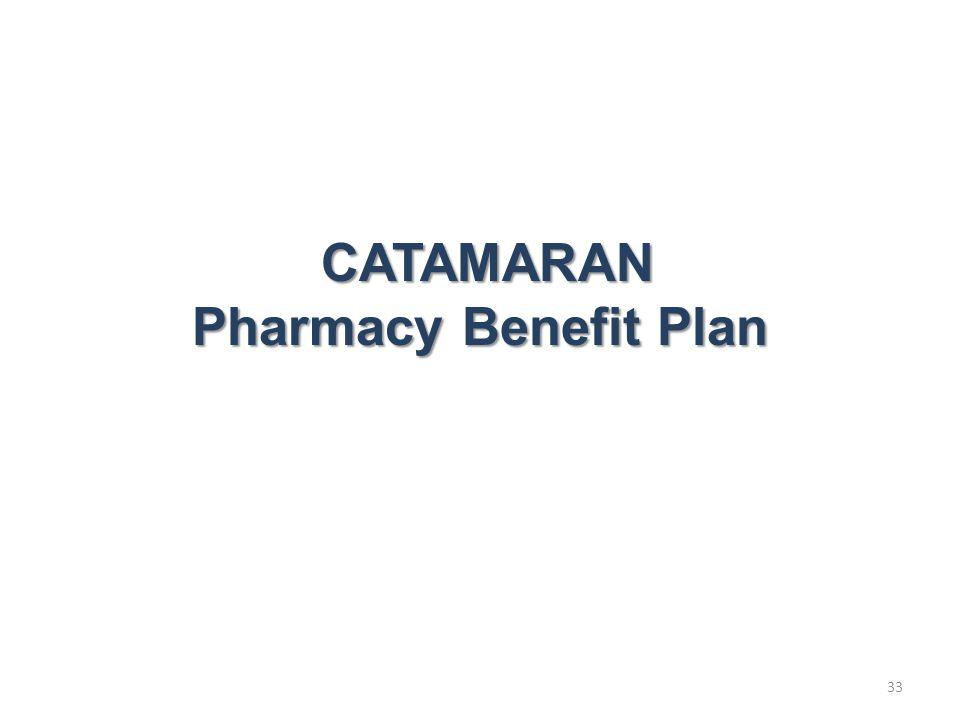 33 CATAMARAN CATAMARAN Pharmacy Benefit Plan