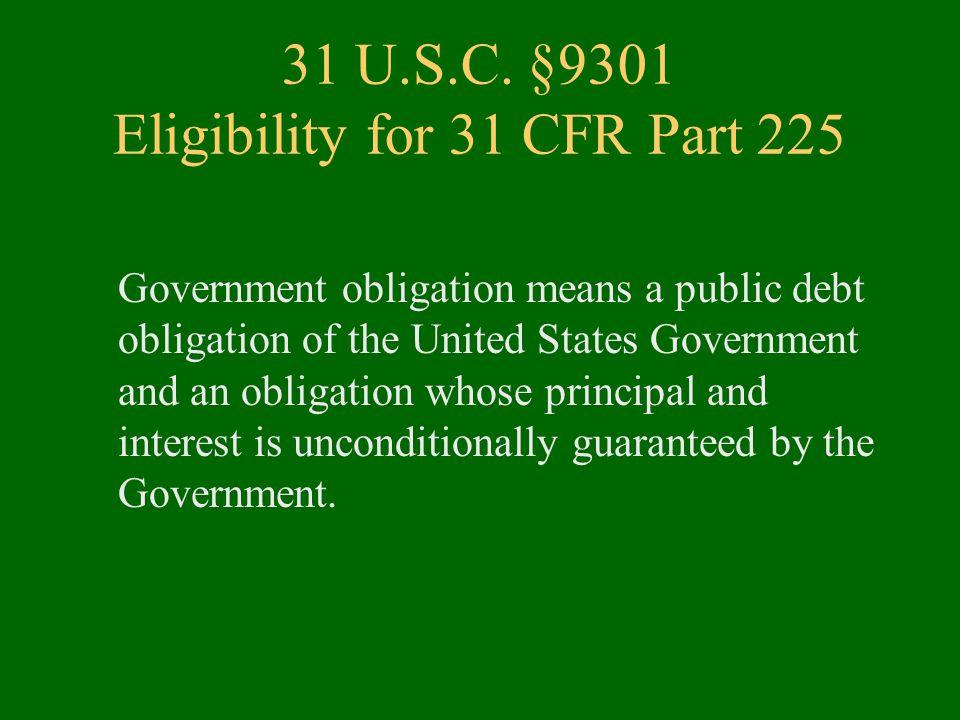 31 U.S.C.