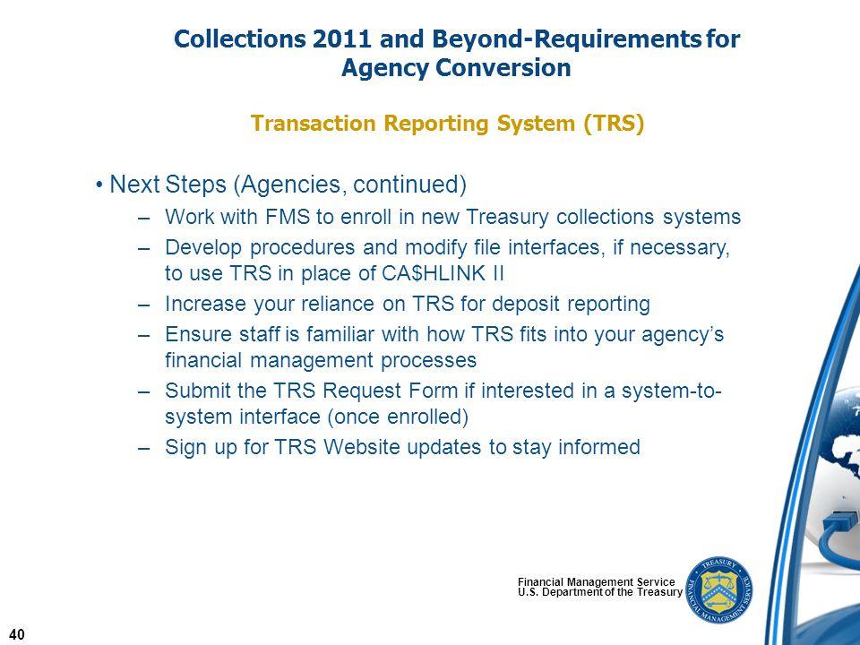 Financial Management Service U.S.