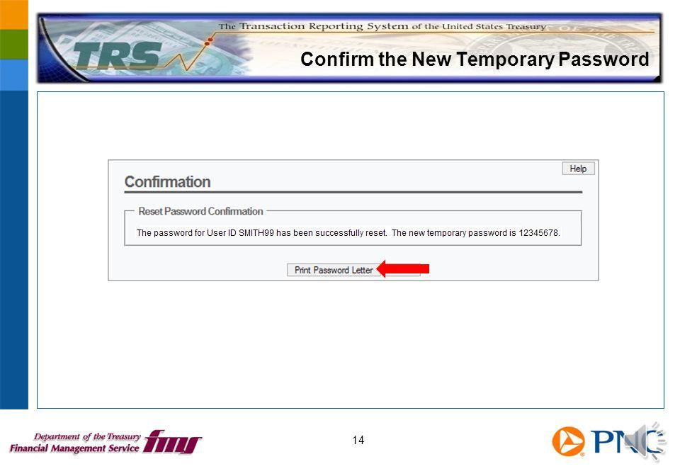 Verify the User's Identification 13