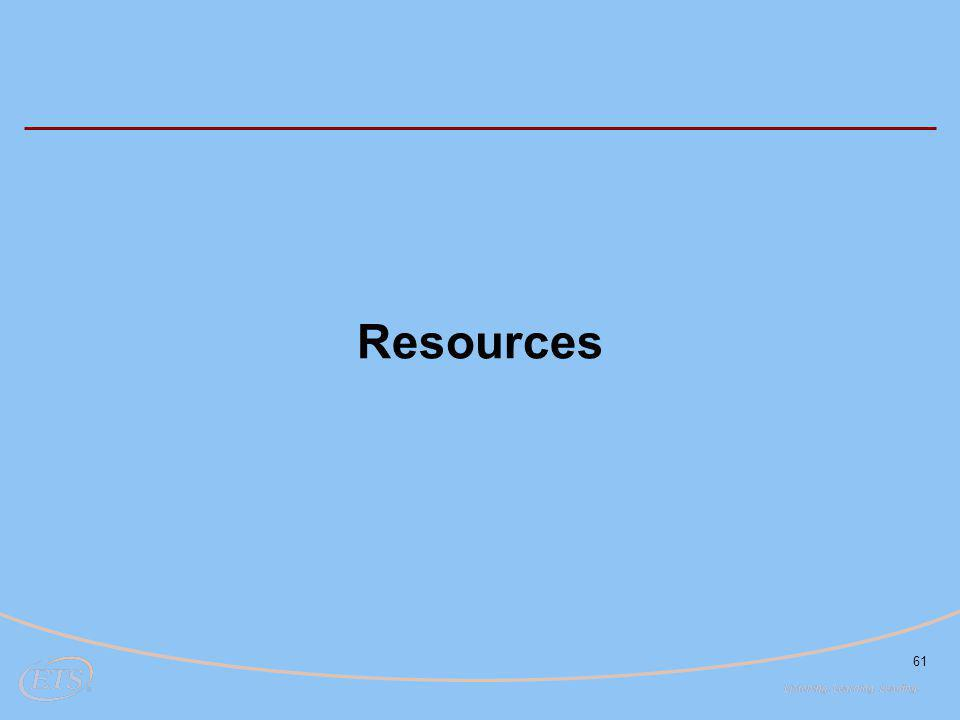 61 Resources