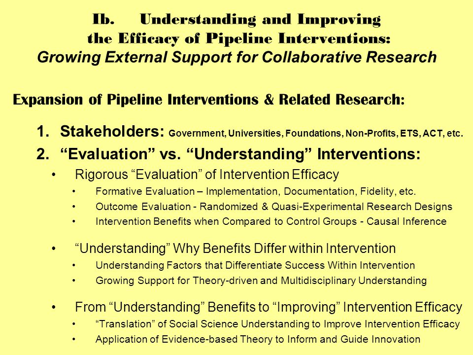 IIIe.A Mixed-Method Study of Exemplary Research Opportunity Interventions: UM-UROP DESIGN ____________________________________________________________________________________________________ ---------------------------------------------------------------------------------------------------------------------------------------------------------------------- Table 2: UM-UROP Quasi-Experimental Survey Design: Interrupted Time-Series for PARTICIPANTS, APPLICANTS, & COMPARSON ================================================================================================= Table 3: Interrupted Time-Series Design - UM-UROP PARTICIPANTS AND CONTROL GROUIPS Time 1 Time 2 Time 3 Time 4 (Before/Early Program) (After 1 ST Semester) (After 2 ND Semester) (After 3 RD Semester) INTERVENTION: UM-UROP 1 ST Year PARTICIPANTS 0 X 0 X 0 0 ______________________________________________________________________________________ CONTROL I: UM-UROP 1 st Year APPLICANTS 0 0 0 0 CONTROL II: UM-Multi-Ethnic 1st Year COMPARISON GROUP 0 0 0 0 ==================================================================================================