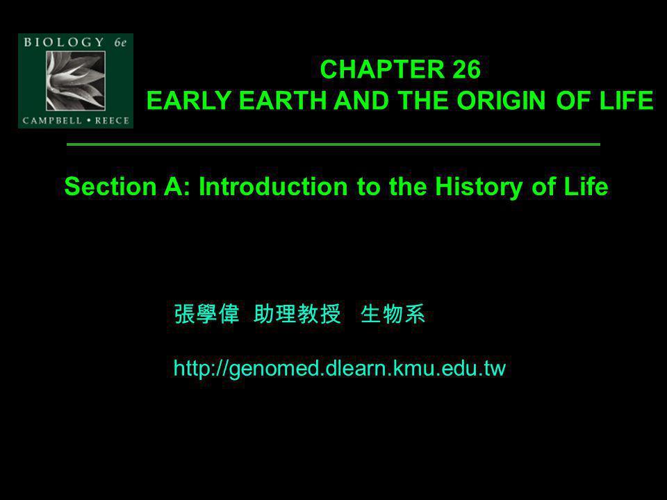 Fig. 26.1 chronology episodes phylogenetic tree Introduction