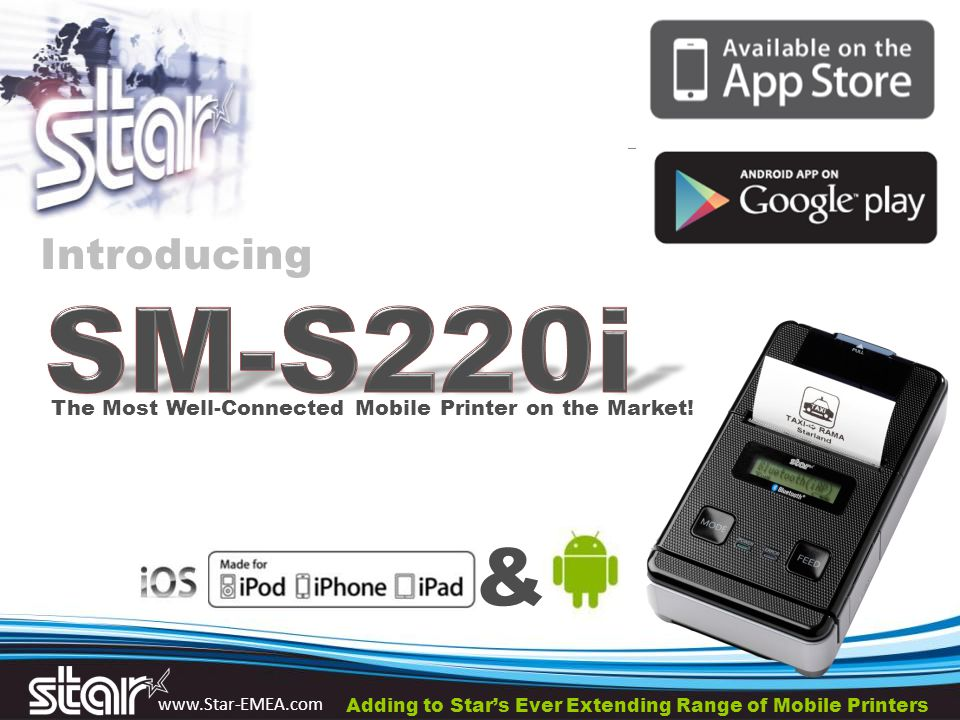 www.Star-EMEA.com & The Most Well-Connected Mobile Printer on the Market.