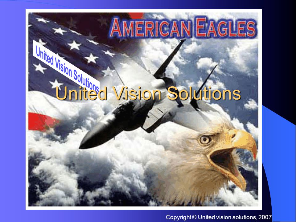 Copyright © United vision solutions, 2007 Contact Us 10 Center Suite 401 & 402, Chicopee, MA 01013, USA +1-413-592-8477 +1-413-591-8477 info@unitedvisionsolutions.com www.longrangecamera.com www.unitedvisionsolutions.com