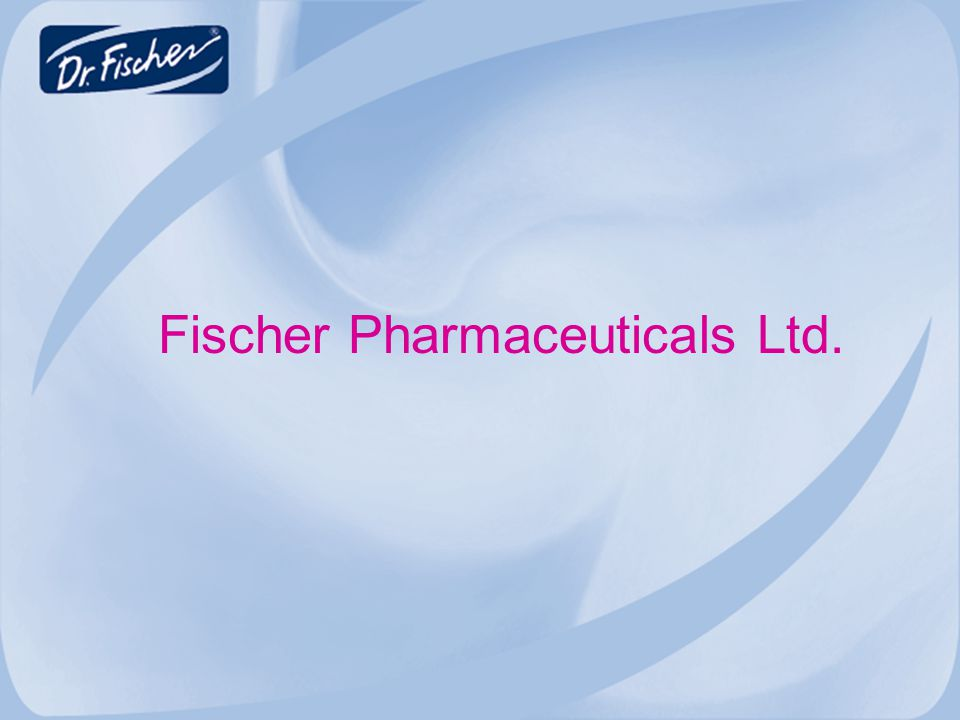Fischer Pharmaceuticals Ltd.