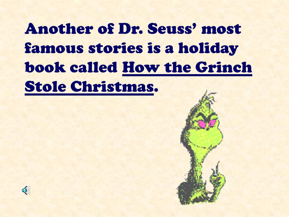 Dr. Seuss wrote Green Eggs and Ham after a friend bet him he couldn't write a book using only 50 words!