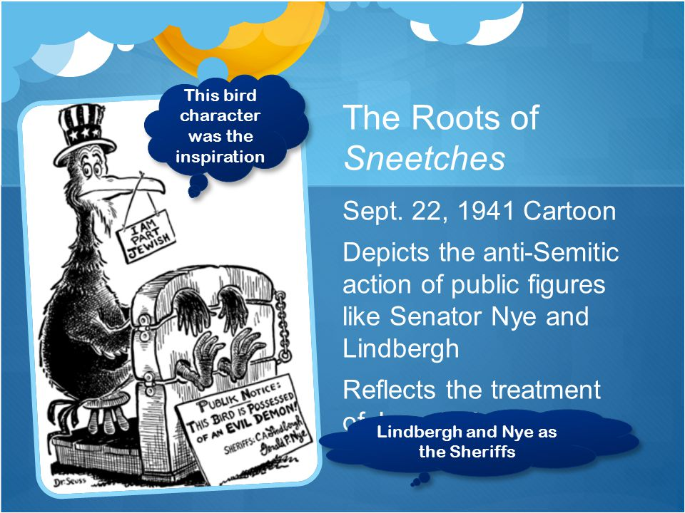The Roots of Sneetches Sept.