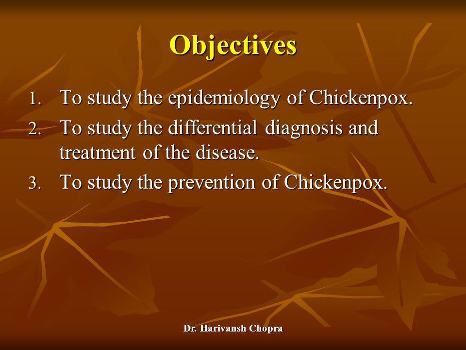 Dr.Harivansh Chopra Chickenpox (Varicella) 1.