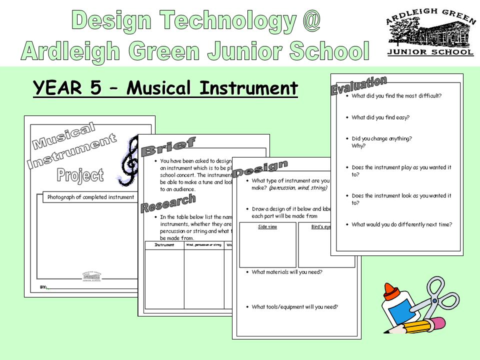 YEAR 5 – Musical Instrument