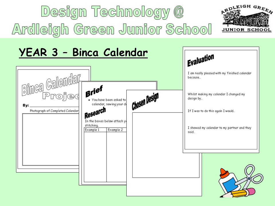 YEAR 3 – Binca Calendar