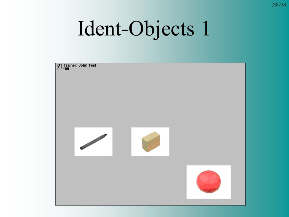 29 /46 Ident-Objects 1