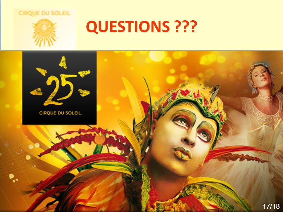 QUESTIONS ??? 17/18