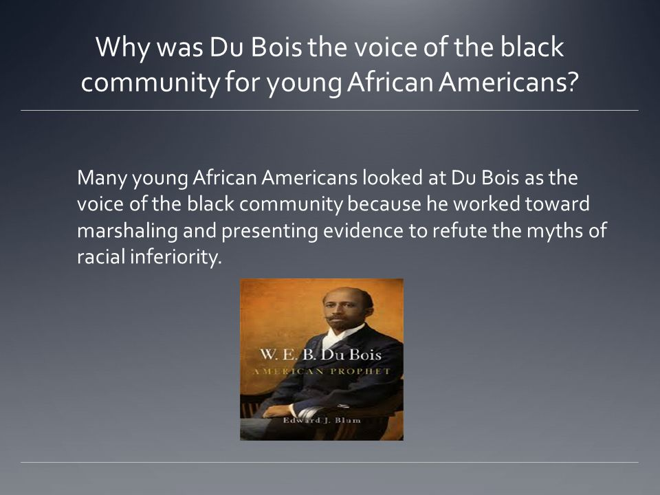 Why did Du Bois teach sociology at Atlanta University.