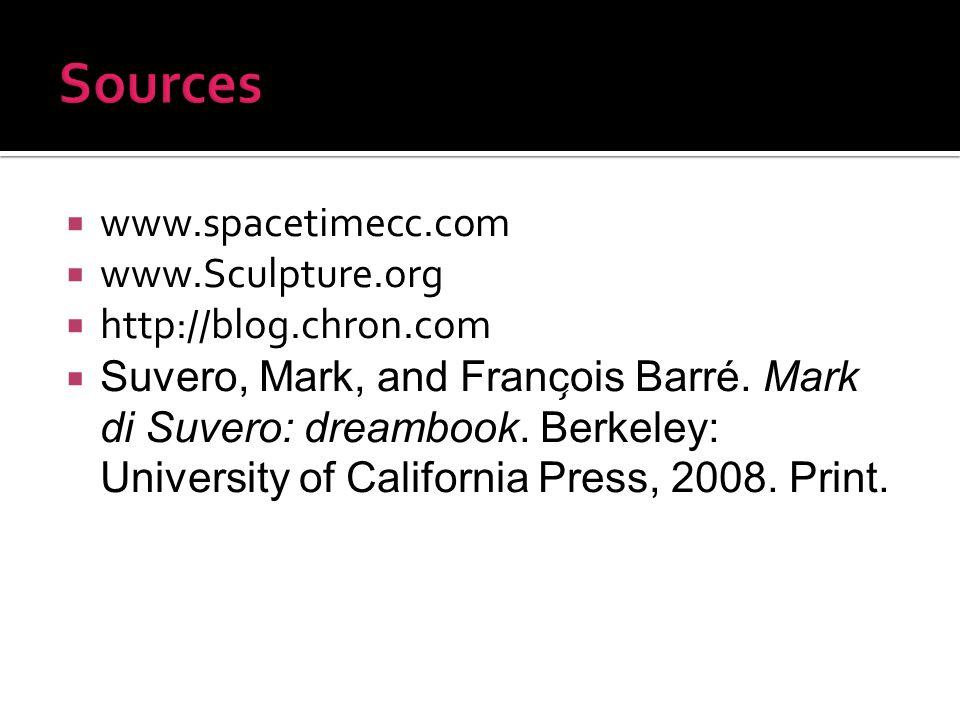  www.spacetimecc.com  www.Sculpture.org  http://blog.chron.com  Suvero, Mark, and François Barré.