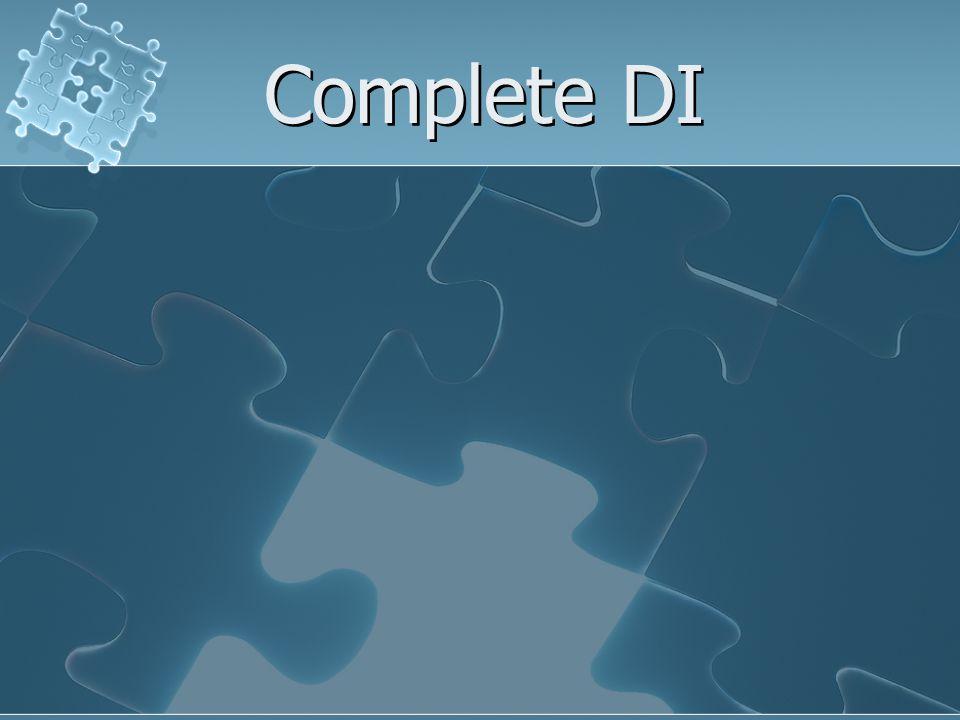Complete DI