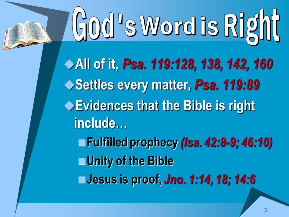 4  Joshua, Joshua 1:7-8; 24:15  Samuel, 1 Sam.12:23-25  Wise father, Prov.