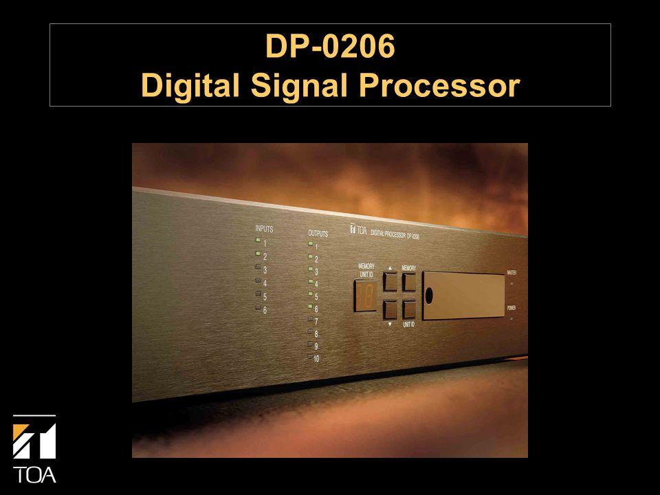 DP-0206 Digital Signal Processor