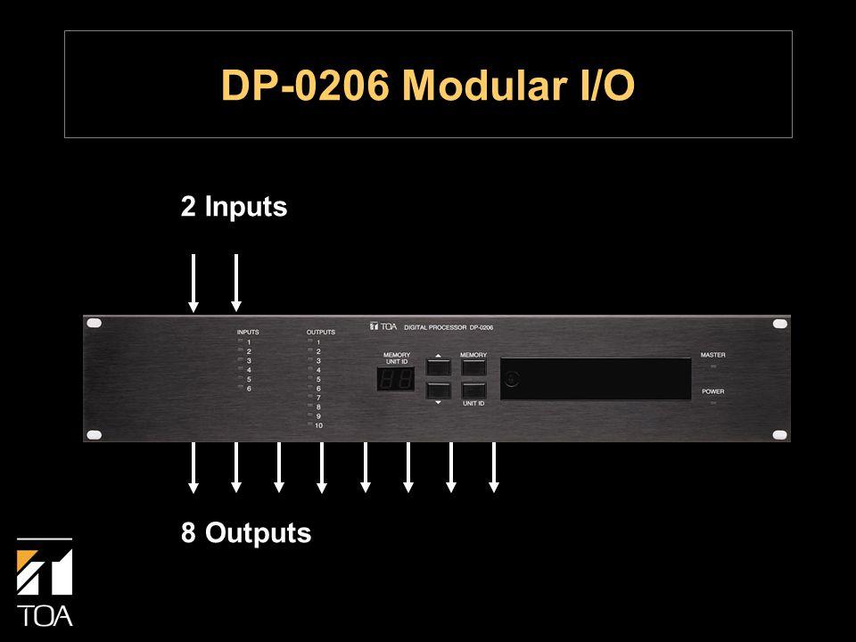 2 Inputs 8 Outputs DP-0206 Modular I/O