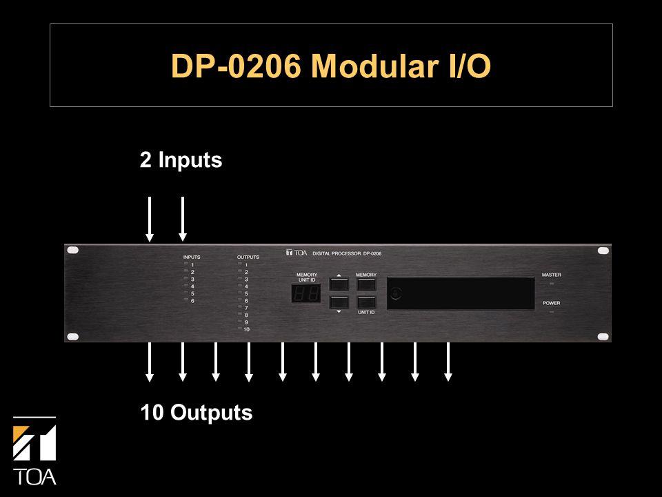 2 Inputs 10 Outputs DP-0206 Modular I/O