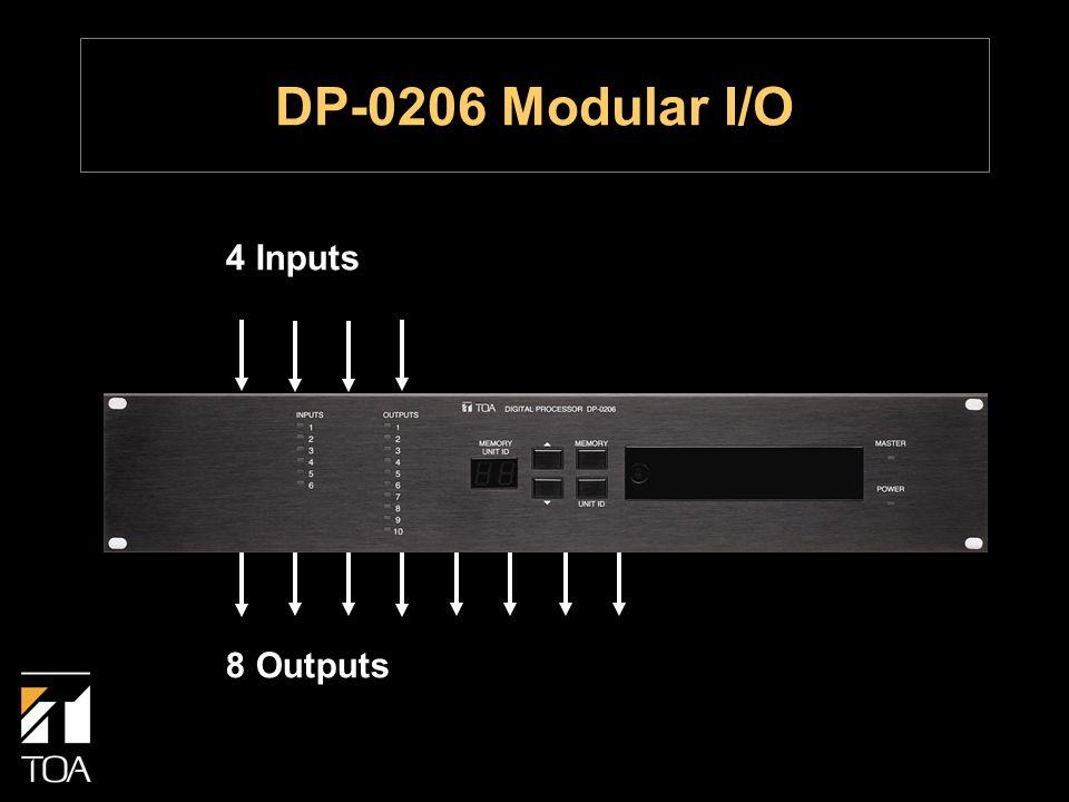 4 Inputs 8 Outputs DP-0206 Modular I/O