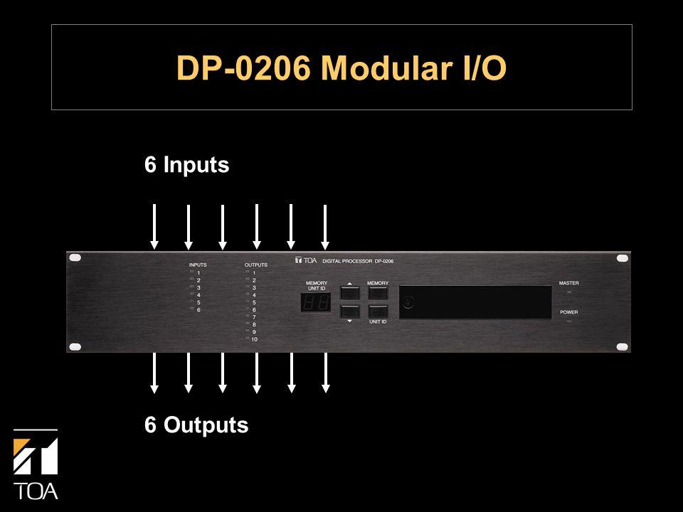 6 Inputs 6 Outputs DP-0206 Modular I/O