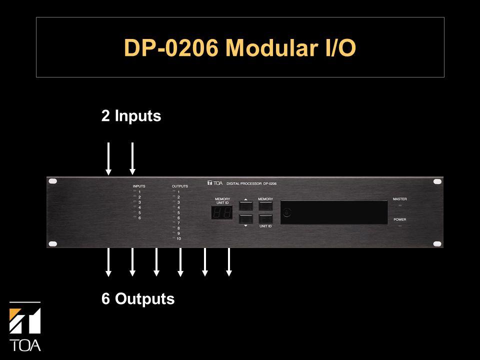 2 Inputs 6 Outputs DP-0206 Modular I/O