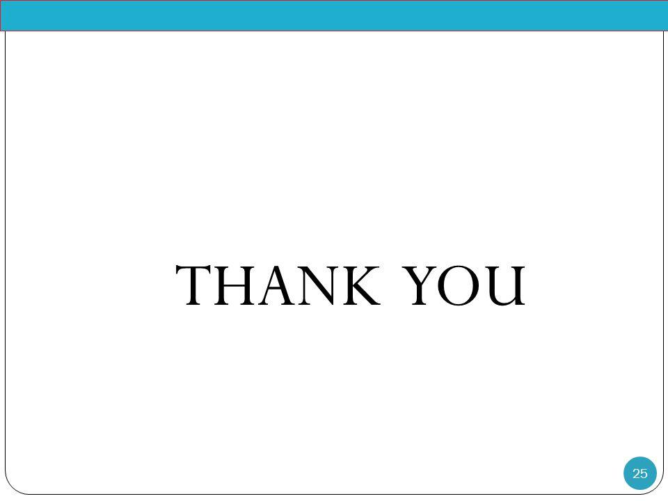 25 THANK YOU Pr