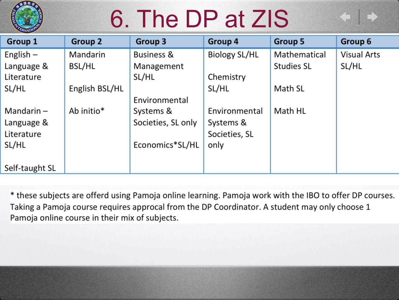 6. The DP at ZIS