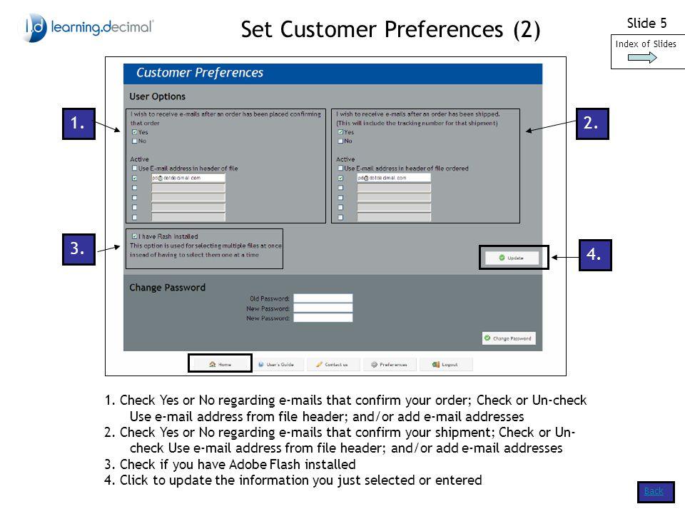 Slide 16 Back 3.Order Trays (2) (IMRT Customers) 8.