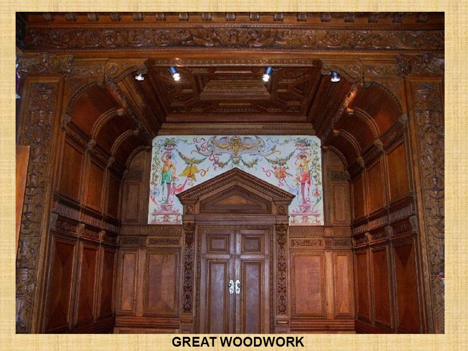 GREAT WOODWORK