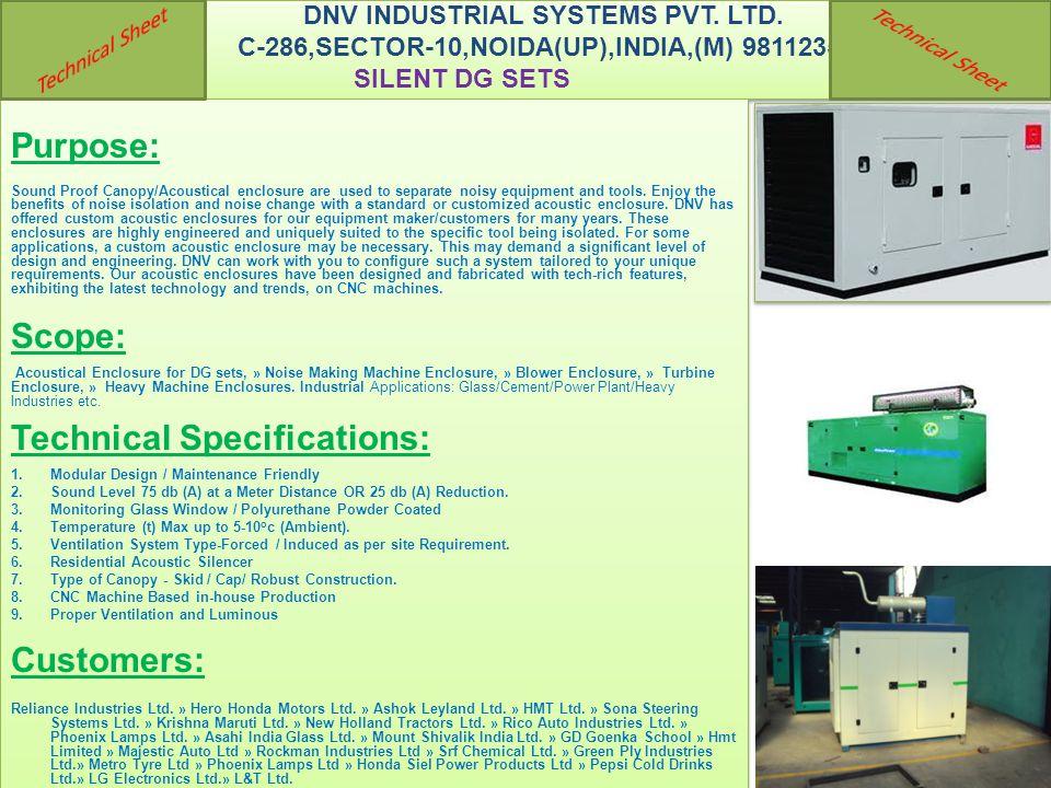DNV INDUSTRIAL SYSTEMS PVT. LTD.