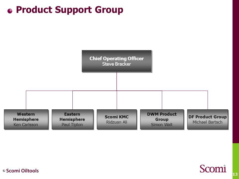 13 Product Support Group Scomi KMC Ridzuan Ali Scomi KMC Ridzuan Ali DF Product Group Michael Bartsch DF Product Group Michael Bartsch Chief Operating