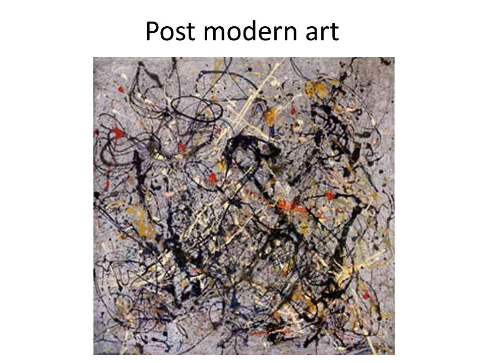 Post modern art