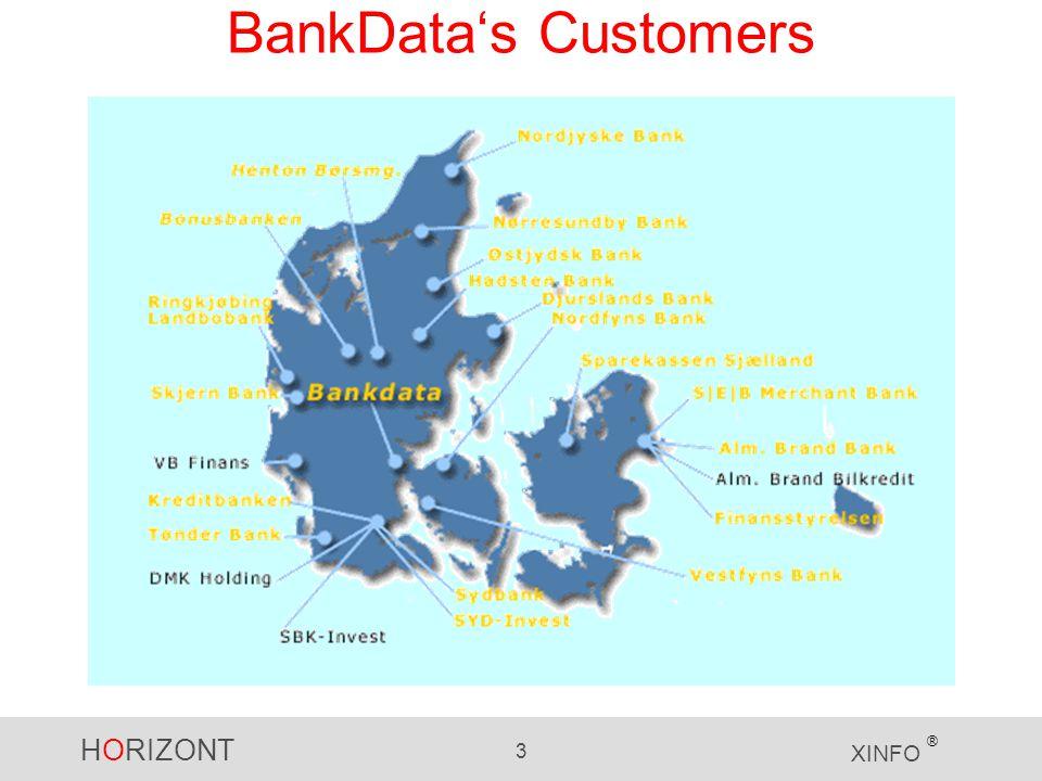 HORIZONT 3 XINFO ® BankData's Customers