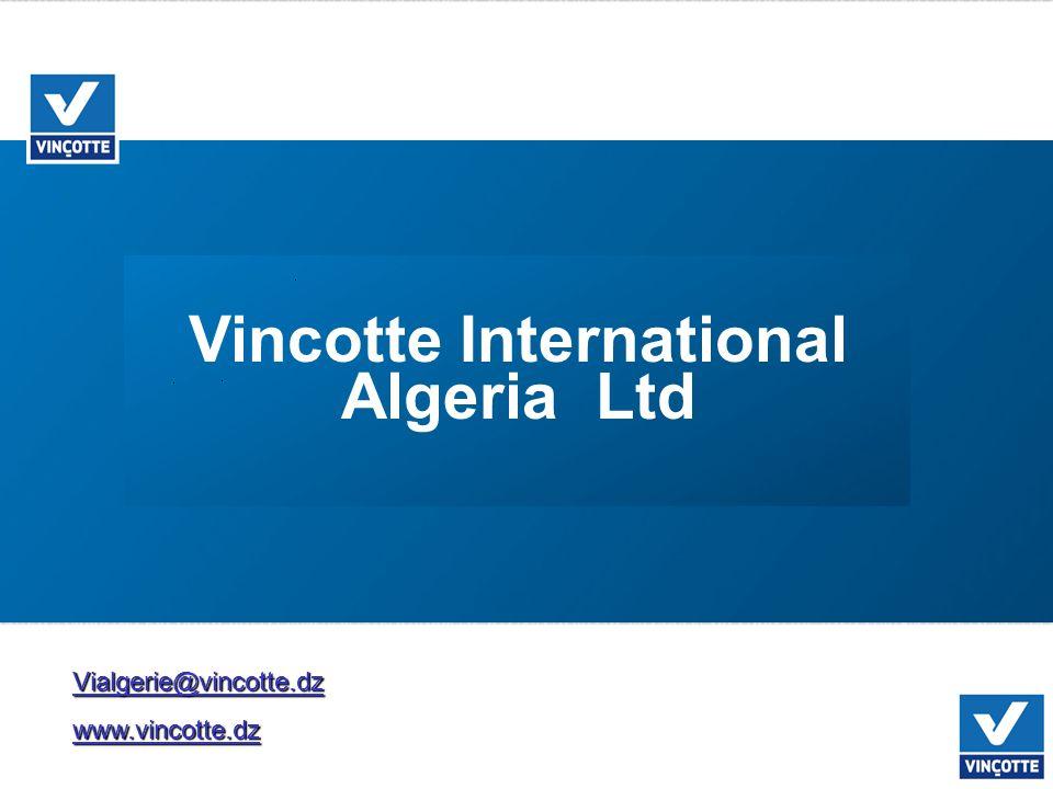 Vialgerie@vincotte.dzwww.vincotte.dz Vincotte International Algeria Ltd