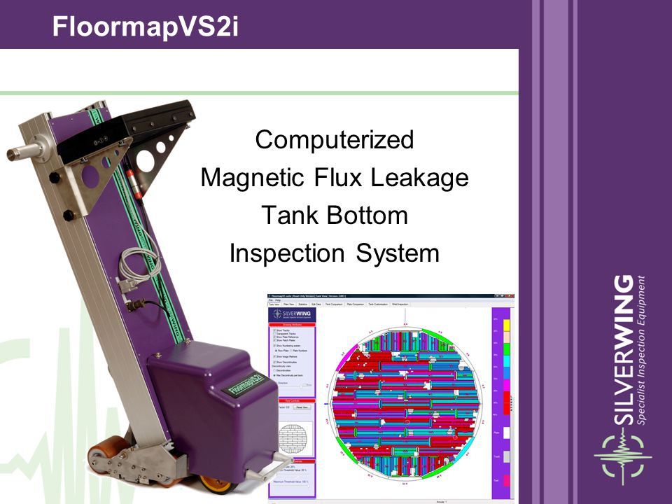 Computerized Magnetic Flux Leakage Tank Bottom Inspection System