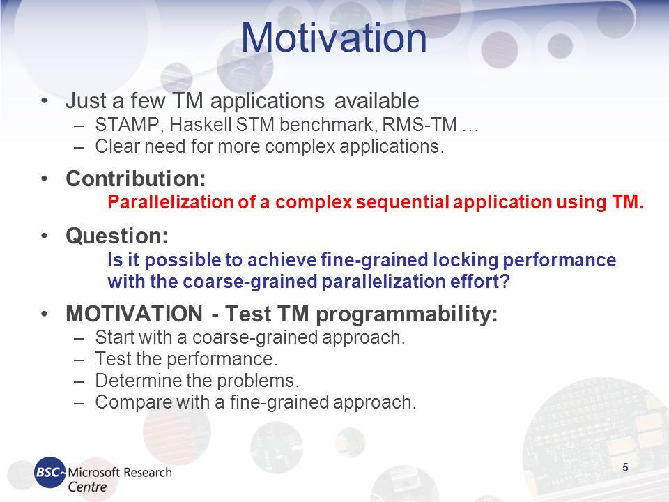 6 Outline Introduction & motivation Quake description Parallelization Results Conclusion