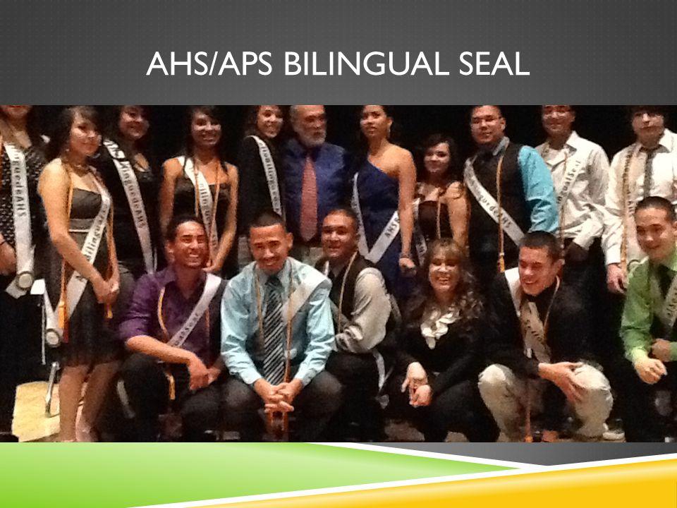 AHS/APS BILINGUAL SEAL