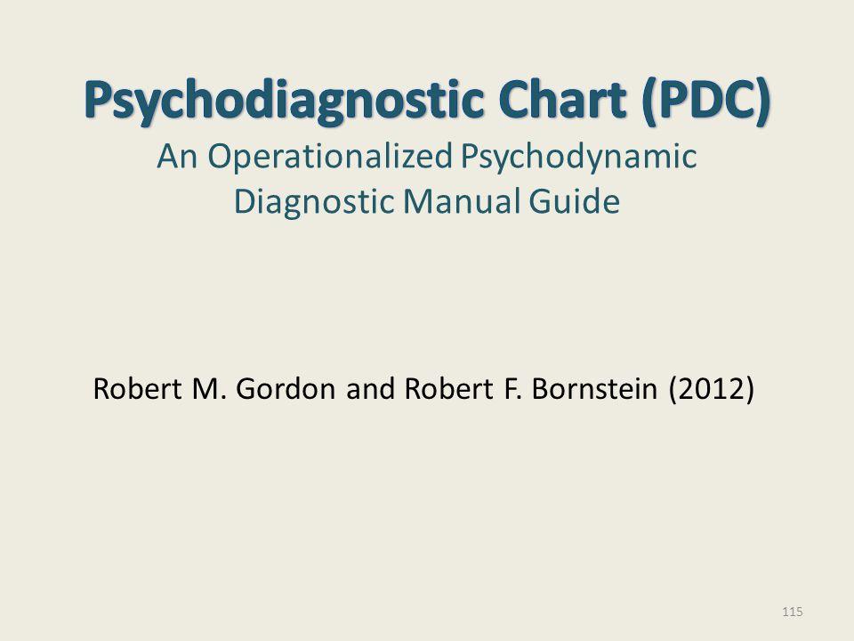 Robert M. Gordon and Robert F. Bornstein (2012) 115
