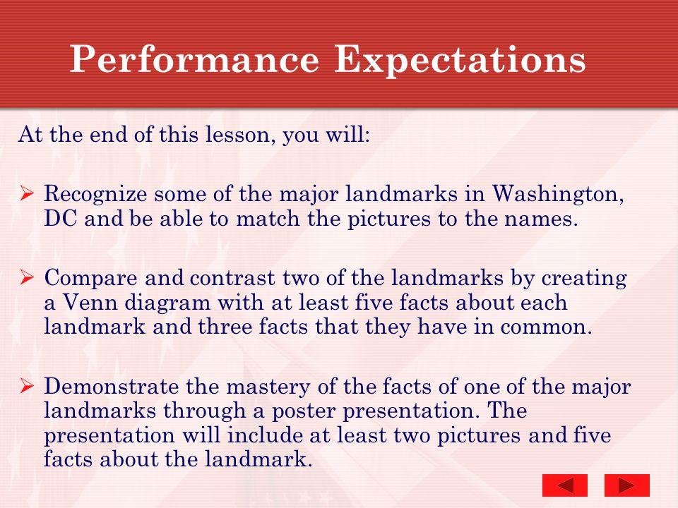 WASHINGTON, D.C. Historic Landmarks and Monuments