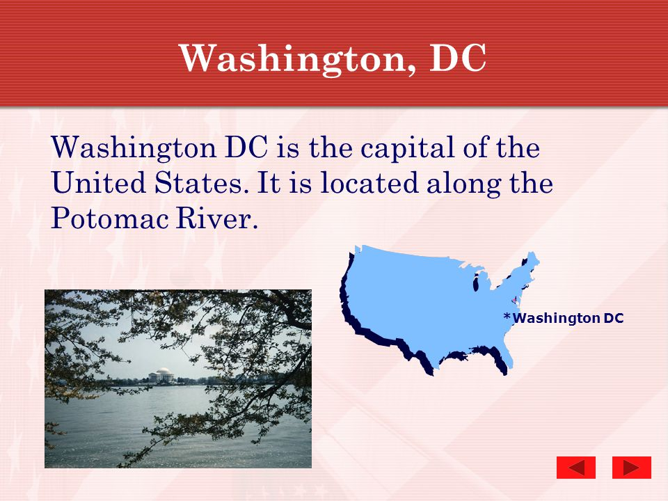 Performance Expectations At the end of this lesson, you will:  Recognize some of the major landmarks in Washington, DC and be able to match the pictu