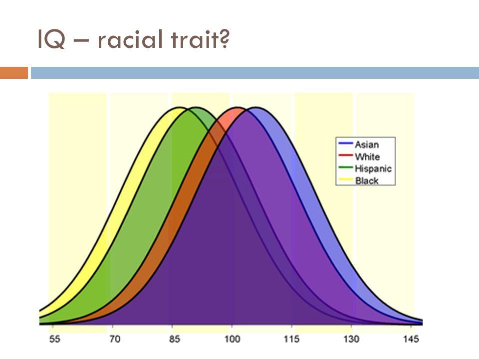 IQ – racial trait?