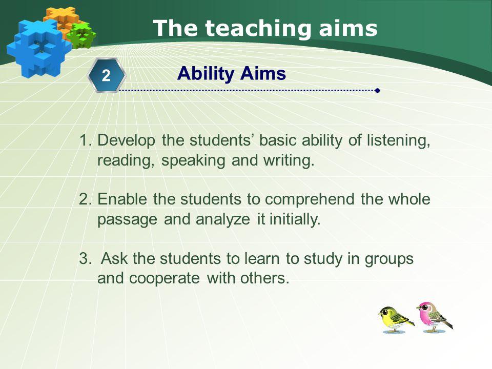 The teaching procedure Step 3 Reading 4.
