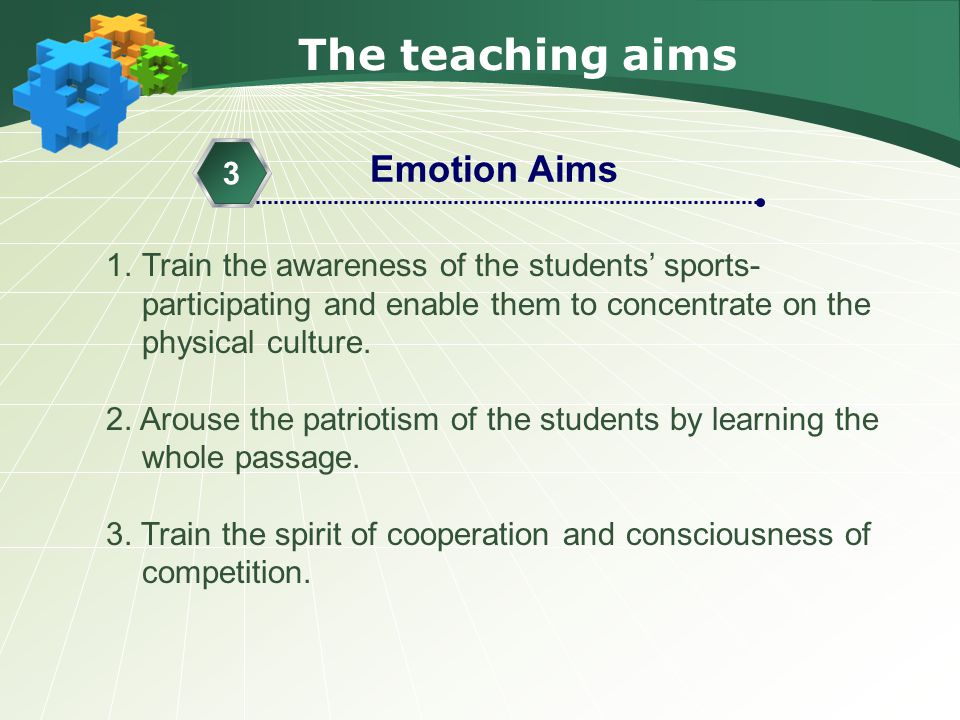 The teaching importance & difficulties 1.The comprehension of the whole passage.