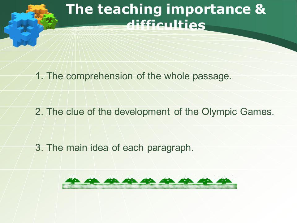 Leading in 1 Pre-reading 2 Reading 3 Post-reading 4 The teaching procedure Summary & Homework 6 Blackboard design 7 Retelling 5