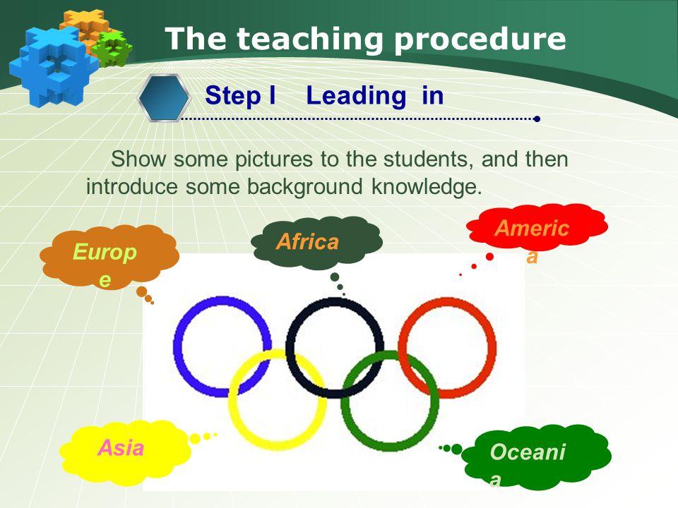 The teaching procedure Step 6 Summary & Homework 2.