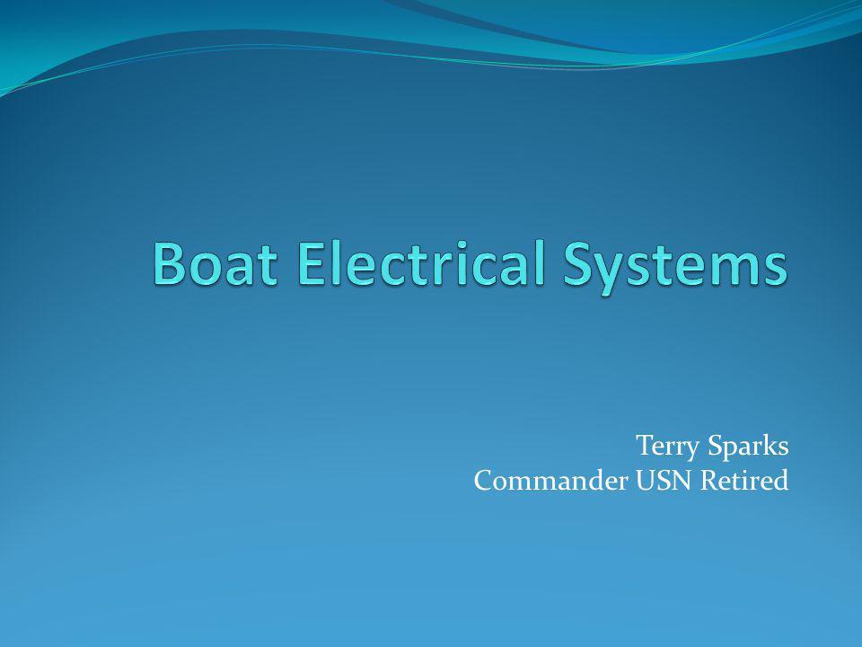 Terry Sparks Commander USN Retired